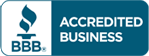 Accredited member of the Better Business Bureau (BBB